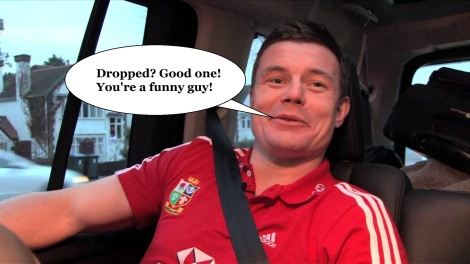 BOD reacts to the news he's been dropped!