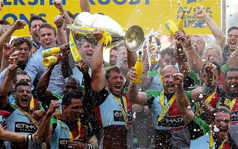 Aviva Premiership Winners 2012