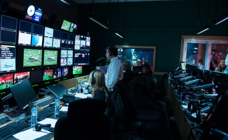 Rugby Tonight's sizeable production operation