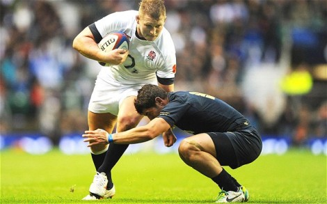 Hartley carried well against Argentina