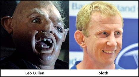 Sloth Cullen