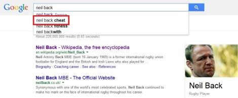 Neil Back Google