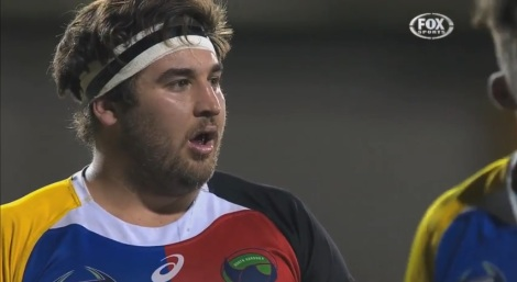 The most surprised man in the history of rugby