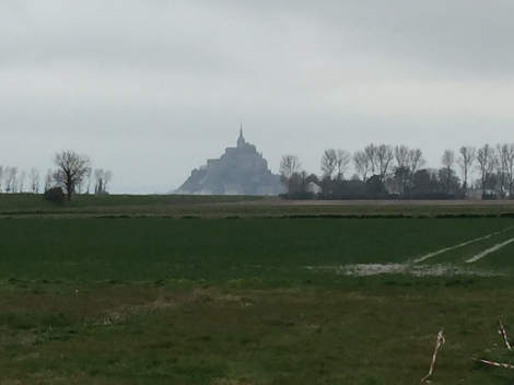 Mont St Michel ... from a distance